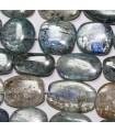 Kyanite Rectangle 25x20mm - Filetage 40 cm - Réf.1096