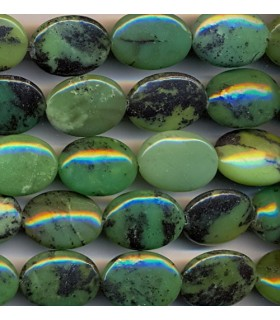 Chinesse Chrysoprase Oval 20x15mm -Strand 40cm- Item.2145