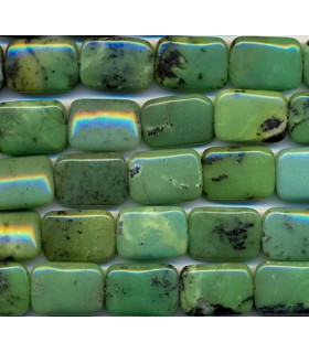 Chinesse Chrysoprase Rectangle 18x13mm -Strand 40cm- Item.2146