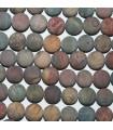 Picasso Jasper Matte Finish Round Beads 12mm.-Strand 38cm.-Item.8622