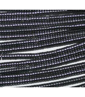 Hematite Disco Liso 2x1mm.-Hilo 40mm.-Ref.8651