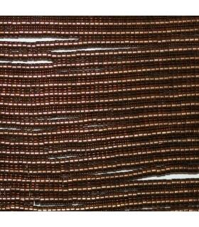 Hematite Marrón Disco Liso 2x1mm.-Hilo 40mm.-Ref.8652