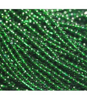 Agata Verde Bola Lisa 2mm.-Hilo 40cm.-Ref.7605