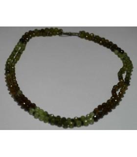 Granate Grosularia Collar Bola Facetada-Ref.3215