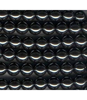 Hematite Bola Lisa 10mm -Hilo 40cm- Ref.2172