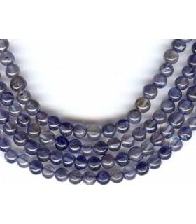 Iolite Round Beads 3mm.-Strand 38cm.-Item.1316