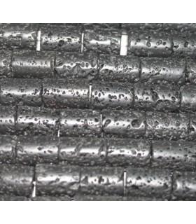 Lava Barril 16x12mm.-Hilo 40cm.-Ref.1196