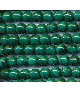 Malachite Round Beads 8mm -Strand 40cm- Item.2128