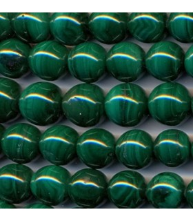 Malachite Round Beads 11-12mm -Strand 40cm- Item.2129