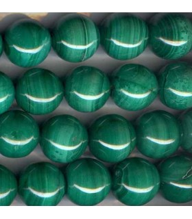 Malachite Round Beads 15-16mm -Strand 40cm- Item.1921