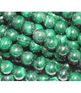 Malachite Round Beads 6mm.-Strand 40cm.-Item.4787