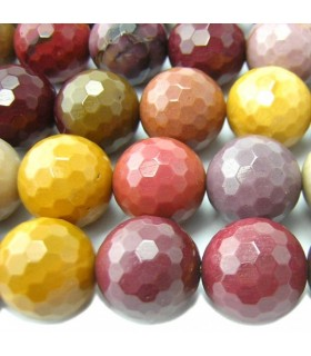 Mookaite Faceted Round Beads 16mm.-Strand 40cm.-Item.6441