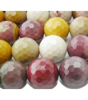 Mookaite Faceted Round Beads 18mm.-Strand 40cm.-Item.6440