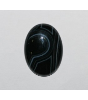 Cabujón Onix Bandeado Oval ( 2 Piezas ) 30x22mm.-Ref.219CB