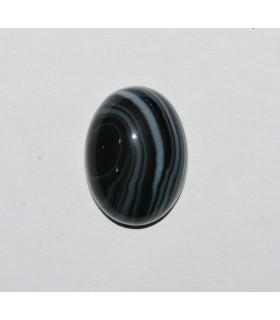 Cabujón Onix Bandeado Oval ( 4 Piezas ) 16x12mm.-Ref.241CB