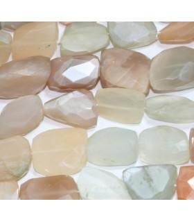 Piedra Luna Multicolor Barril Facetado 22x16mm.Aprox.-Hilo 37cm.-Ref.5080