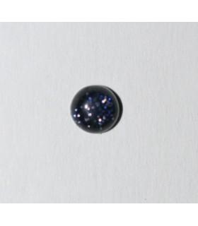 Cabujón Piedra Sol Azul Redondo ( 4 piezas ) 4mm.-Ref.134CB