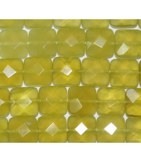 Serpentine Faceted Square 10mm.-Strand 40cm.-Item.5340