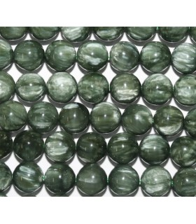 Seraphinite Round Beads 8mm.-Strand 40cm.-Item.5906