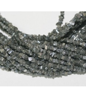 Silverite Raugh Chips 4-5 mm.-Strand 40 cm.-Item.6243