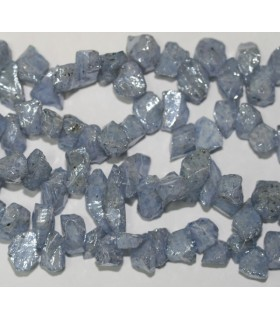 Tanzanite Raugh 11x6mm.-Approx.-Strand 20cm.-Item.6238