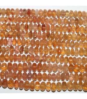 Imperial Topaz Faceted Rondelle 5-6x3mm.-Strand 36mm.-Item.7282