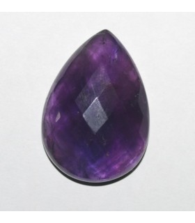 Amatista Gota Facetado ( 67.5 CT ) 36x26mm..-Ref.7908