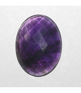 Amatista Oval Facetado ( 65.5 CT ) 38x25mm..-Ref.7907