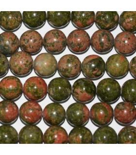 Unakite Round Beads 10-11mm -Strand 40cm- Item.2779