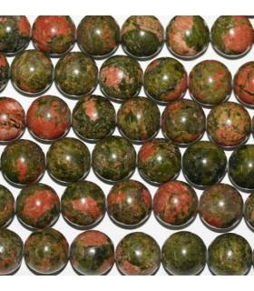 Unakite Round Beads 12mm -Strand 40cm- Item.3328