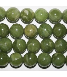 Vesuvianite Round Beads 12mm.-Strand 40cm.-Item.7455