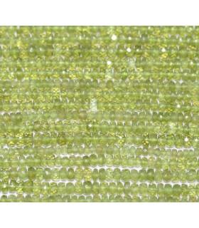 Vesuvianite Faceted Rondelle 4x2mm.-Strand 37cm.-Item.4860