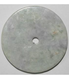 Colgante Asiático de Jade Multicolor 45mm.Aprox.- Ref. 188MU