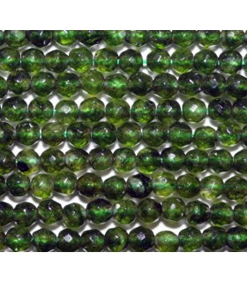 Jade Verde Bola Facetada 2mm.-Hilo 40cm.-Ref.6841