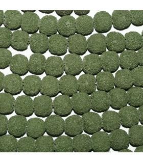 Lava Verde Bola 10-11mm.-Hilo 39cm.-Ref.9035