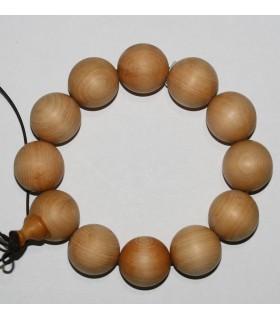 Sandalwood Round Beads Bracelet 20mm.-Item.9060
