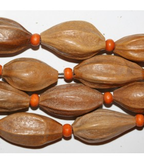 Seed Nugget 20x13mm.Approx.-Strand 50cm.-Item.9068
