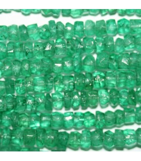 Beryl Faceted Rondelle 4x3mm.Strand 40cm.-Item.9197
