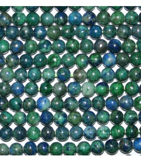 Azurite Round Beads 4mm.-Strand 40cm.-Item.9330