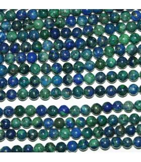 Azurite Round Beads 3mm.-Strand 40cm.-Item.9333