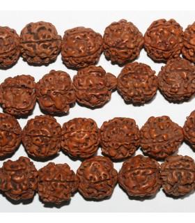 Rudraksha Mala Beads 18-19mm.-Strand 180cm.Approx.-Item.9467