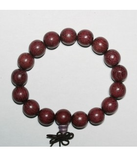 Wood Round Beads Bracelet 12mm.-Item.9471