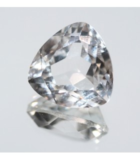 Cristal De Roca Triangulo Facetado ( 15.2 CT ) 17mm.-Ref.7842