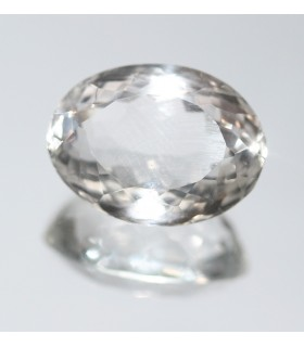 Cristal De Roca Oval Facetado ( 23.8 CT ) 23x17mm.-Ref.7843
