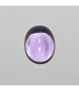 Amatista Oval Liso ( 12 CT ) 16x13mm.-Ref.7944