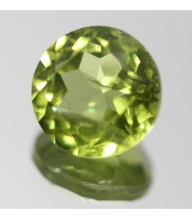 Peridoto Redondo Facetado ( 5.1CT ) 10mm.-Ref.006PE