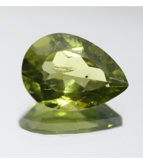Peridote Faceted Drop ( 4.2 CT ) 13x9mm.-Item.011PE