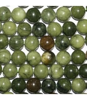 Vesuvianite Round Beads 10mm.-Strand 39cm.-Item.9637