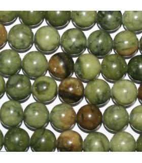 Vesuvianite Round Beads 12mm.-Strand 39cm.-Item.9638