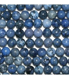 Dumortierite Round Beads 8mm.-Strand 40cm.-Item.9644